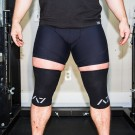 A7 Black knee sleeves thumbnail