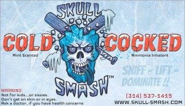 Skull Smash cold cocked mint