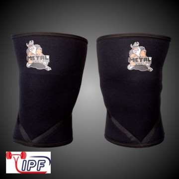 Metal knee sleeves 7mm