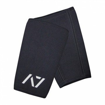 A7 Black knee sleeves